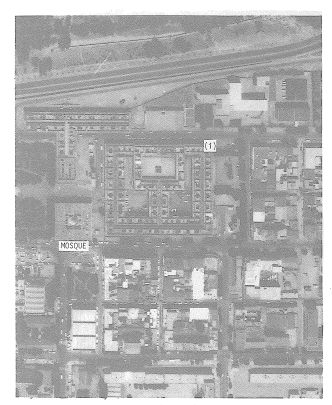 Cite An Nasr Market aerial view prior to damage (Bertero & Shah, et al, 1983)