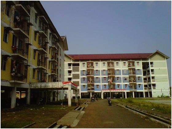 View of two of the apartment (PT Bina Raka Metindo)
