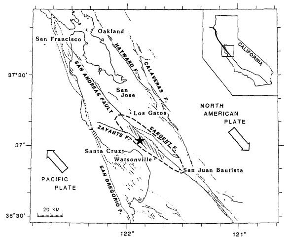 fault line map